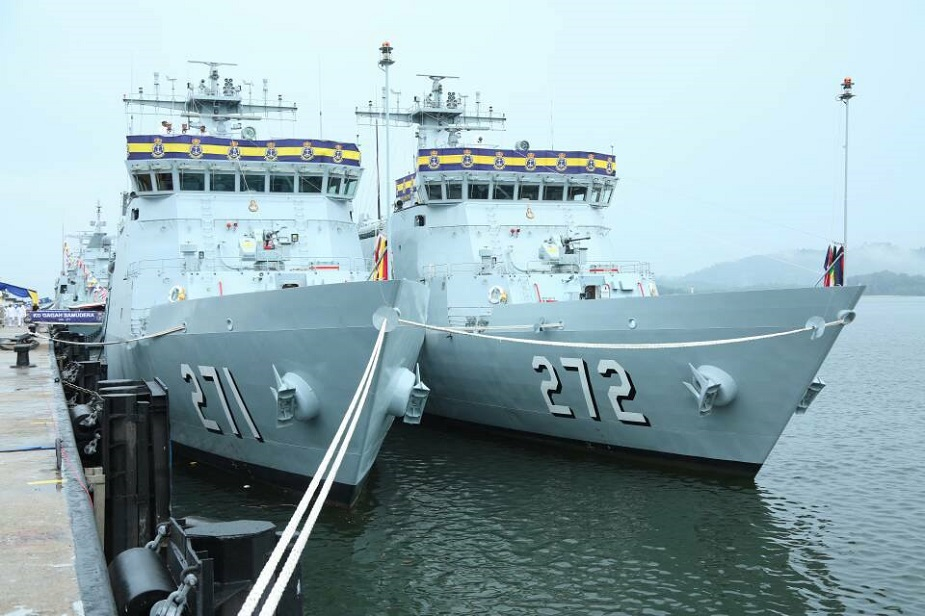 Royal Malaysian Navy Commissioned Two Naval Training Ships 1