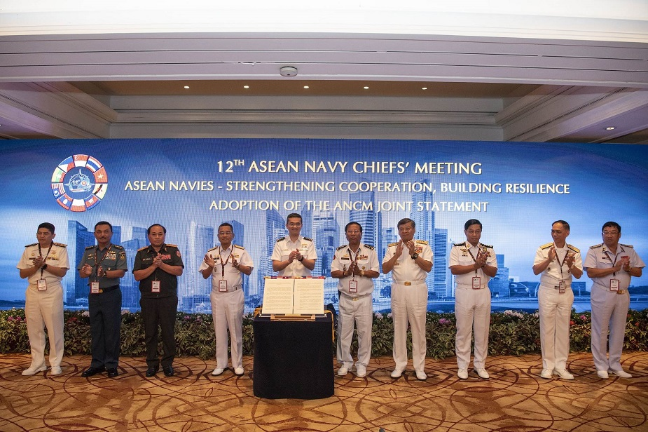 ASEAN Navy Chiefs Affirm Commitment to Strengthen Cooperation