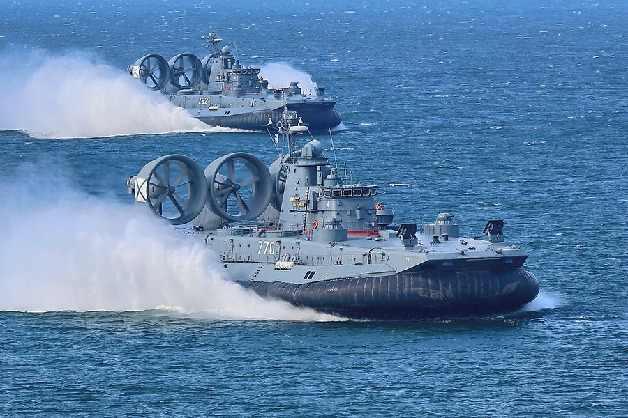 Dozens of Zubr and Murena LCACs to be built for Russian Navy
