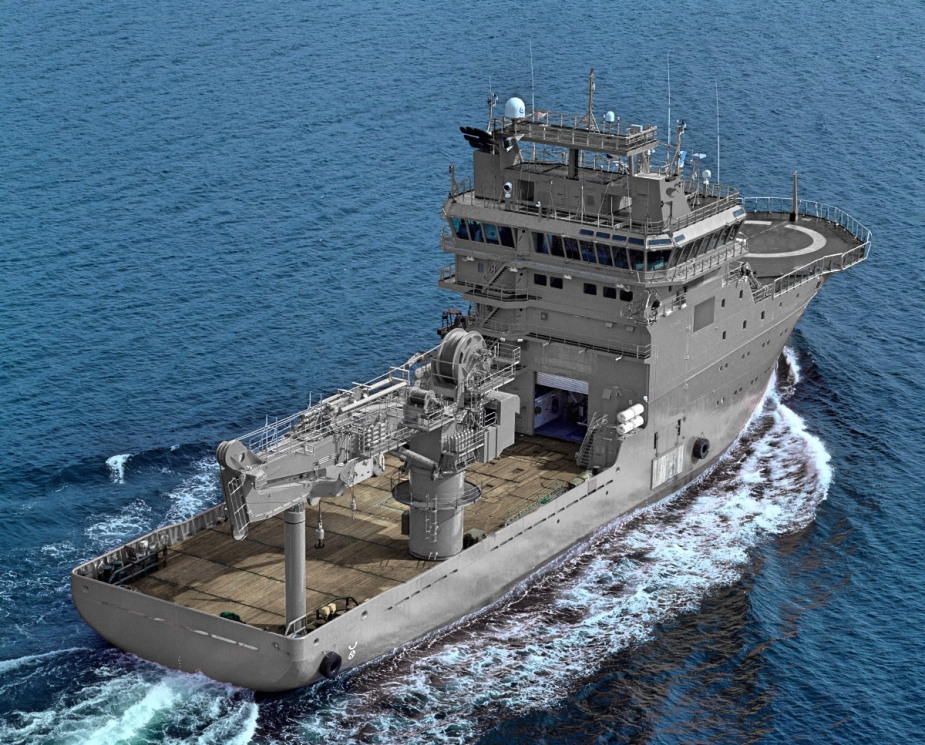New Dive and Hydrographic Support Vessel for Royal New Zealand Navy