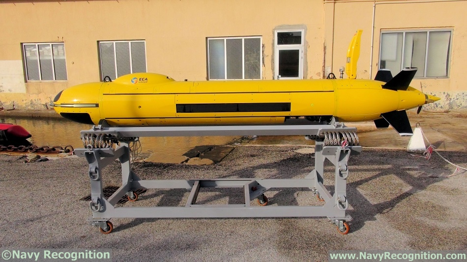 ECA Group unveils the A18 M mid size AUV for mine warfare 1