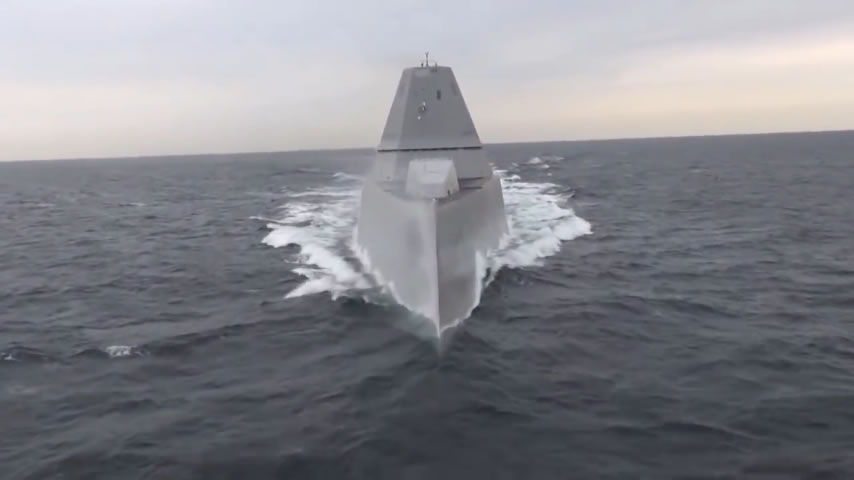 Future USS Michael Monsoor DDG 1001 Completes Acceptance Trialsjpg