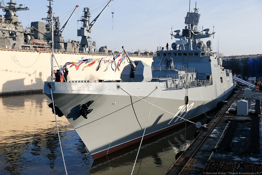 Project 11356 Admiral Makarov Frigate Russia 1