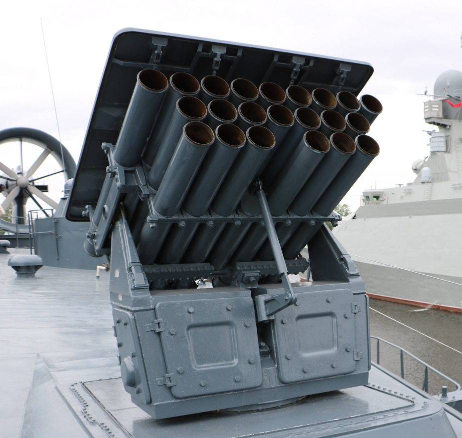 Tecmash develops new extended range rocket for naval MLRS