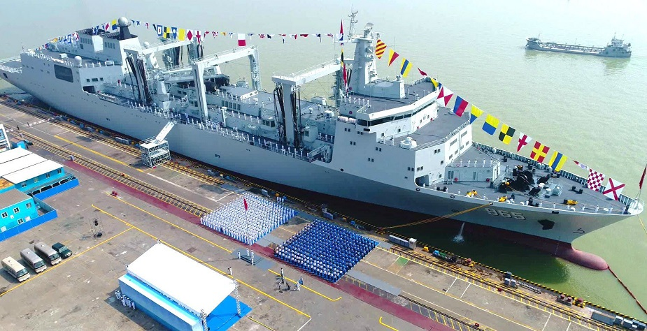 China Building a 3rd Type 901 Large Replenishment Oiler for PLAN 2