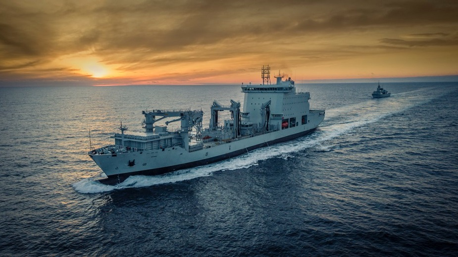 Interim AOR MV Asterix Completes Royal Canadian Navy Trials Achieves FOC 1