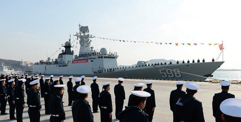 Type 054A Frigate Rizhao PLAN China 1