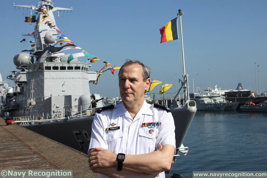 Belgian Navy Days 2018 Interview with Admiral Wim Robberecht