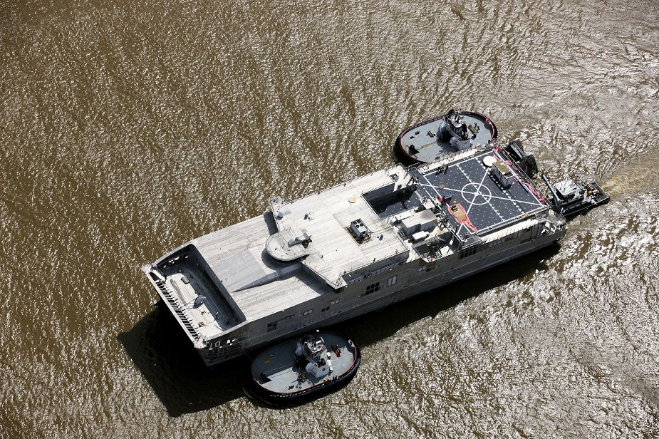 Expeditionary Fast Transport vessel Burlington EPF 10 Completes Builders Trials