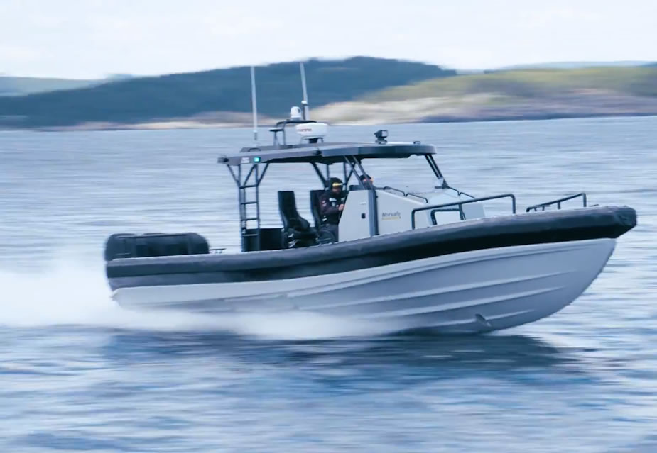 Norsafe Launches New Fast Rescue Patrol Boat at Seawork International