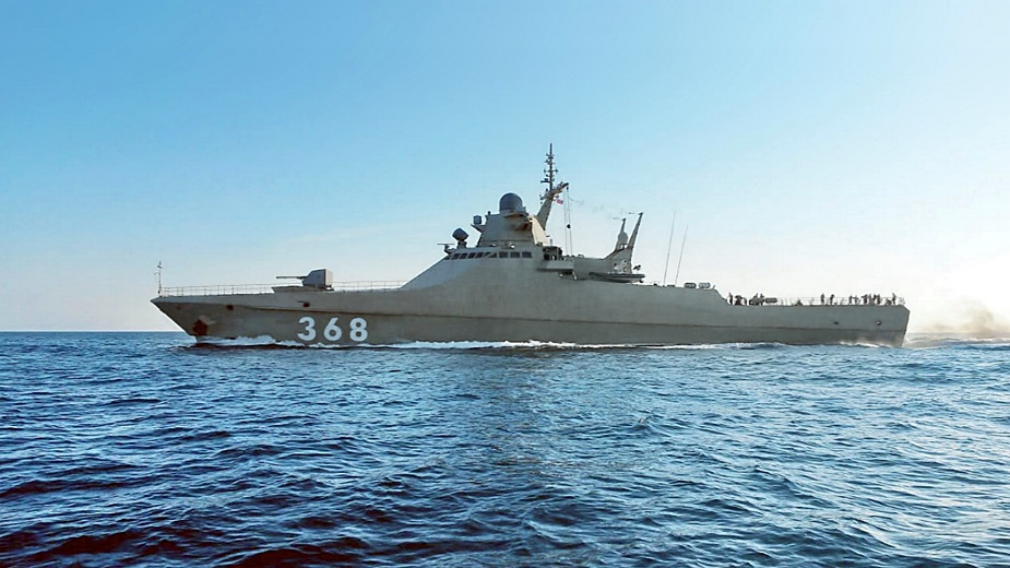 Picture Russian Navy Latest Patrol Vessel Vasily Bykov Underway
