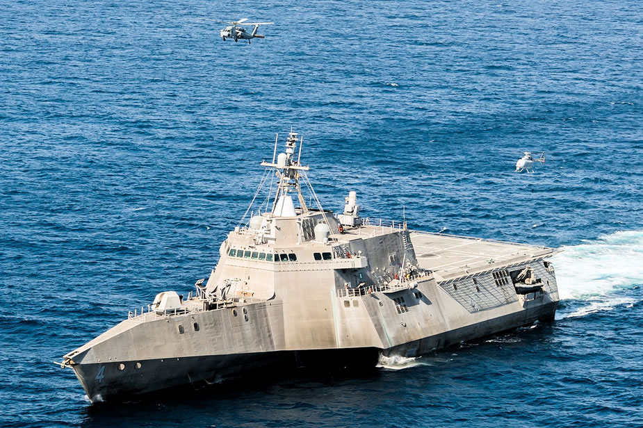 U.S. Navy Completes 1st MQ 8C Fire Scout Operational Test at Sea 1