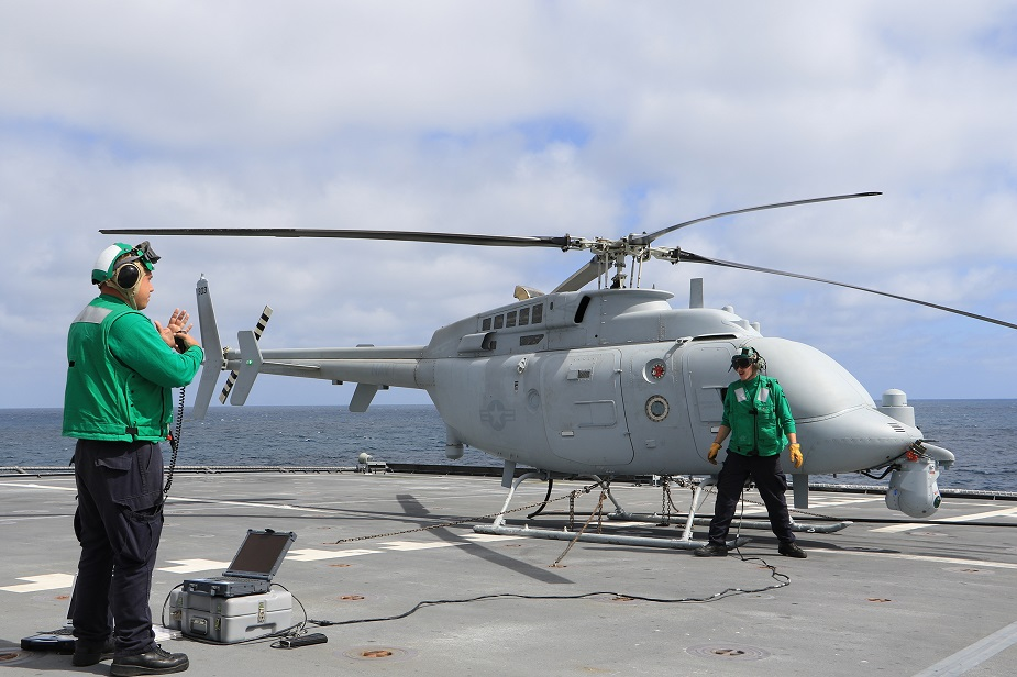 U.S. Navy Completes 1st MQ 8C Fire Scout Operational Test at Sea 2