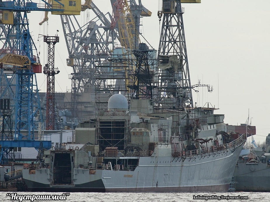 Upgrade of Russian Frigate Neustrashimy Nears Completion
