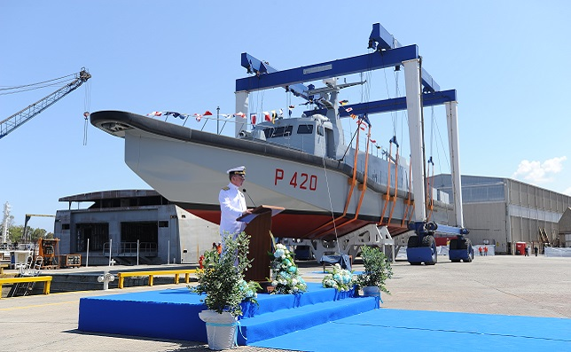 1st UNPAV High Speed Vessels for Italian Navy Special Forces Launched
