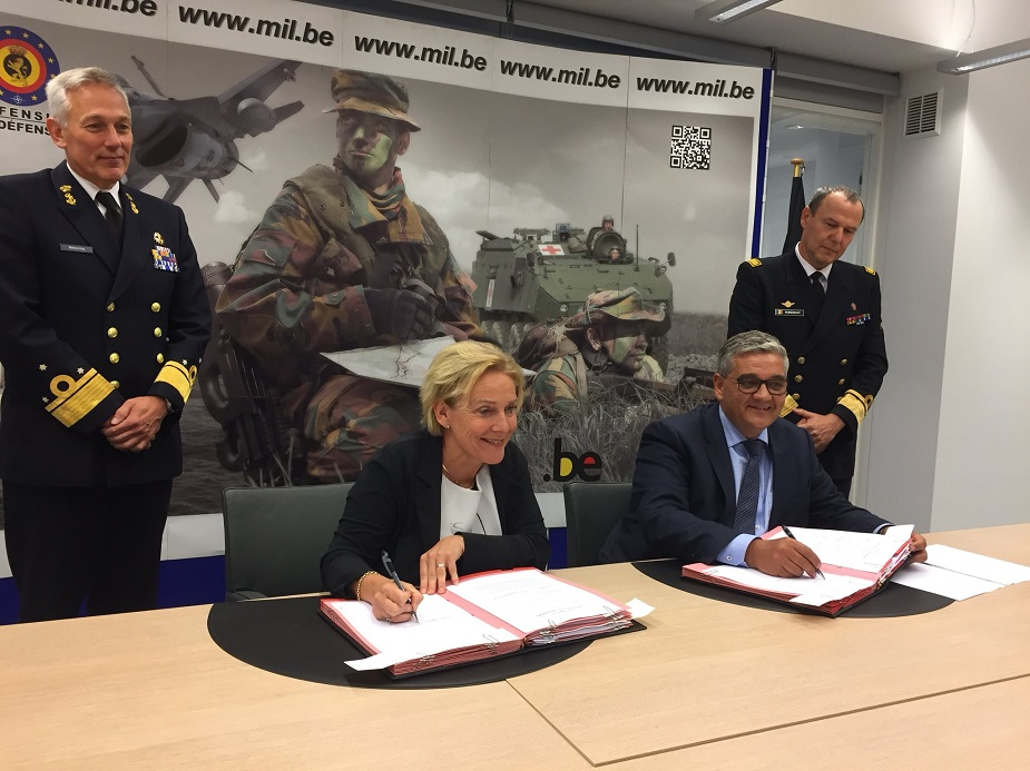 Belgium and the Netherlands Signed the MoU for New Frigates MCM Vessels