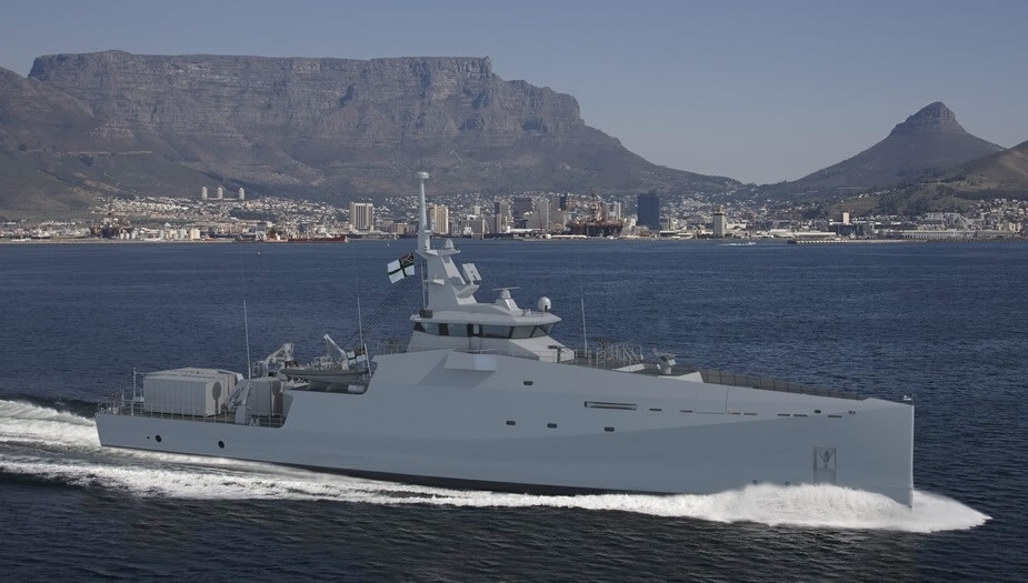 OSI Signs Contract with Damen to Provide INTS to the South African Navy MMIPV Program Stan Patrol 6211