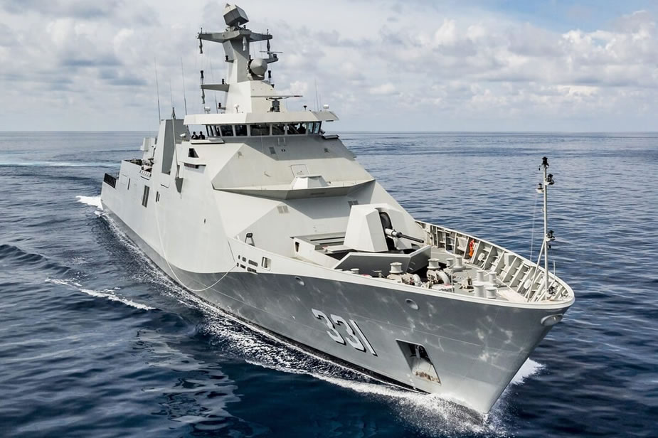 Sigma 10514 PKR Frigate Indonesian Ministry of Defence
