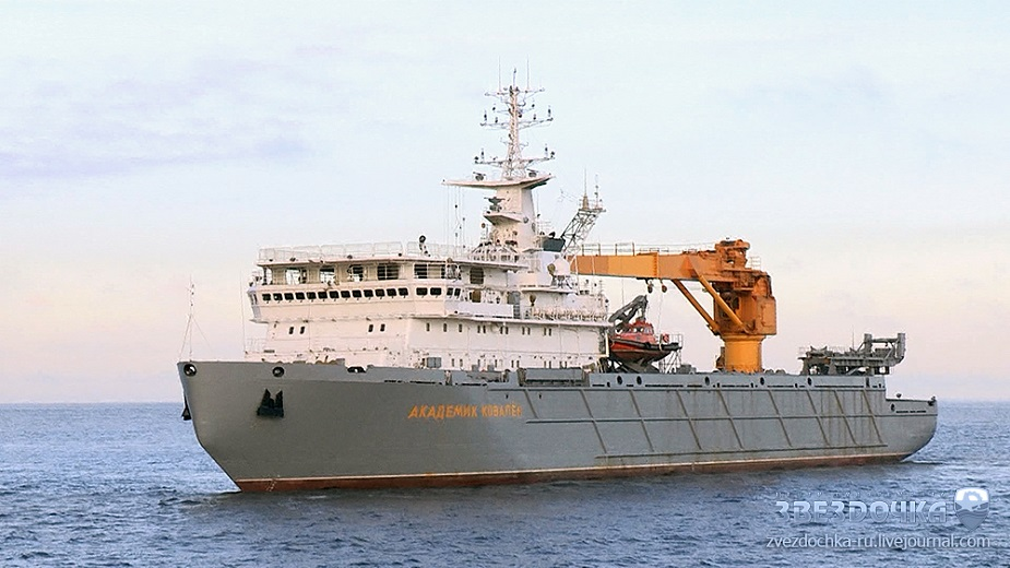 Project 20180TV Academician Kovalyov armament support ship