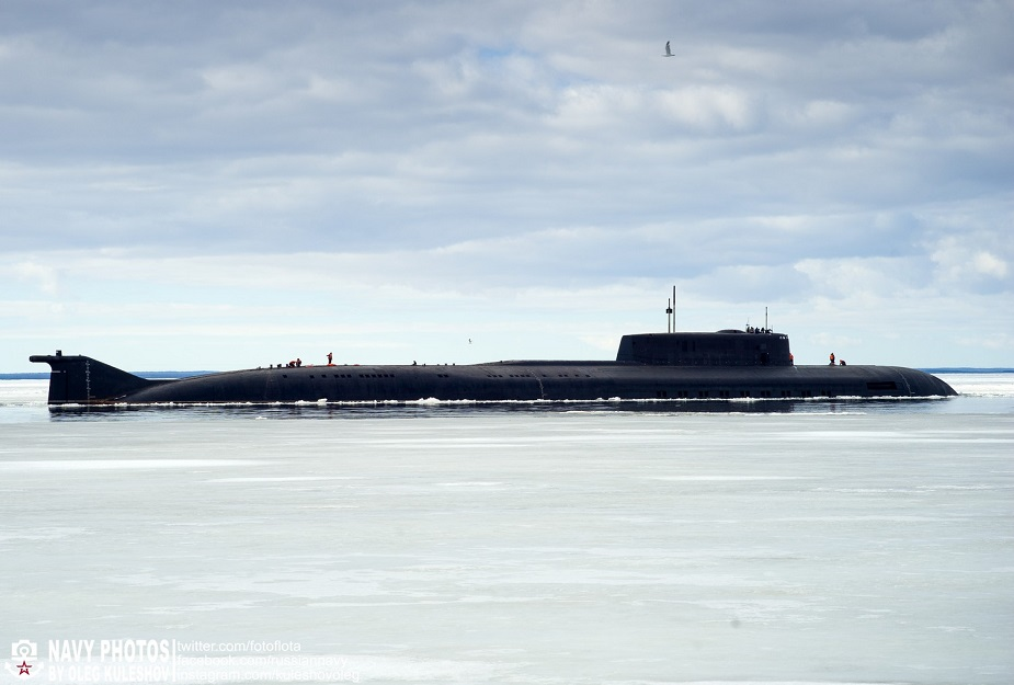 Project 949A Oryol Submarine Russia