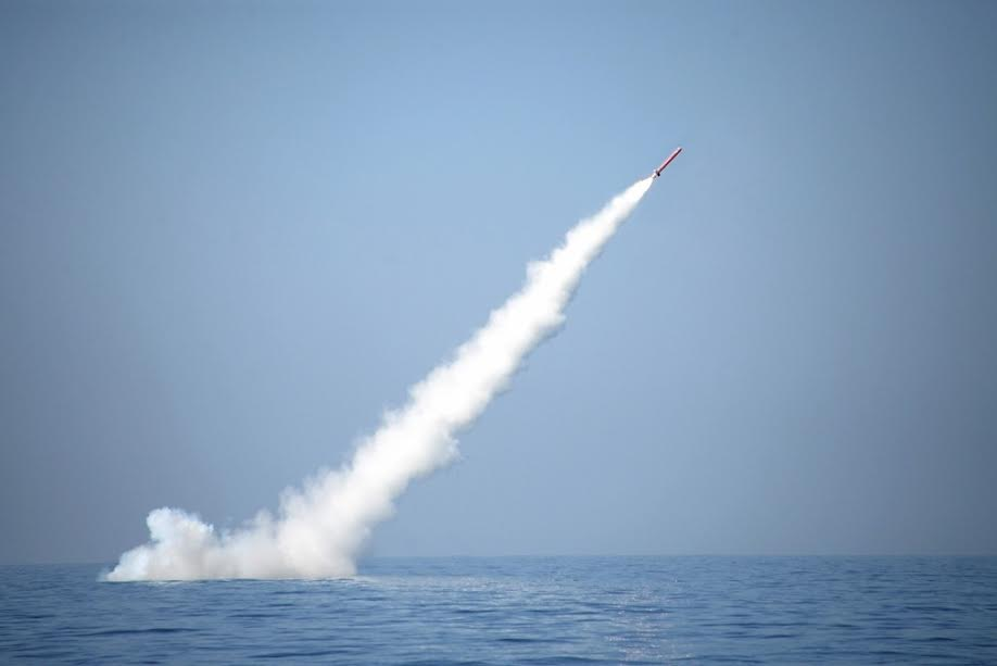 Video Pakistan Test Fired Another Babur Submarine Launched Cruise Missile