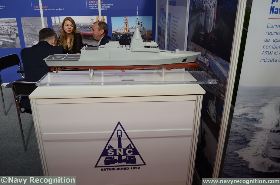 BSDA Naval Group Partnering with Romanian Shipyard SNC for Gowind Corvettes 2