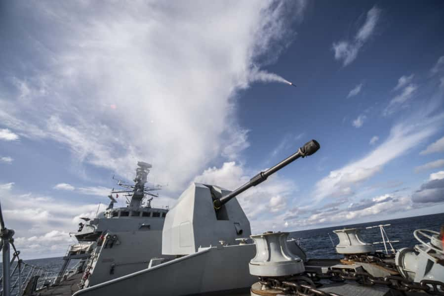 MBDA Sea Ceptor missile system enters service with Royal Navy