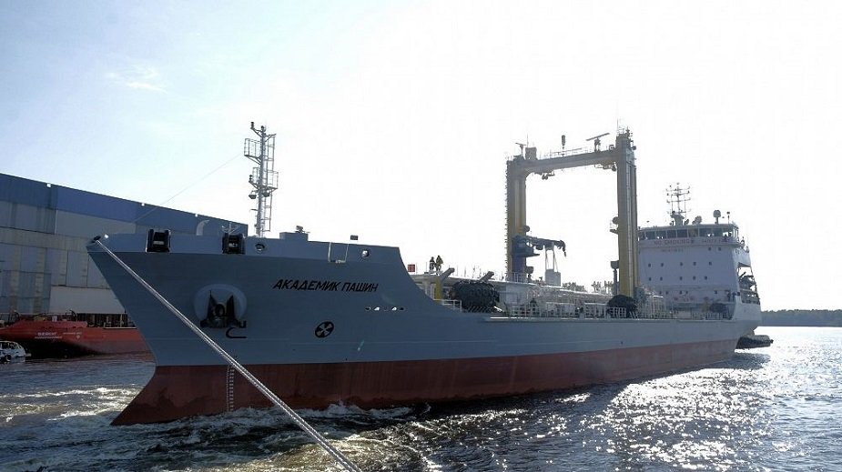 Medium sea tanker of the project 23130 Academic Pashin started sea trial
