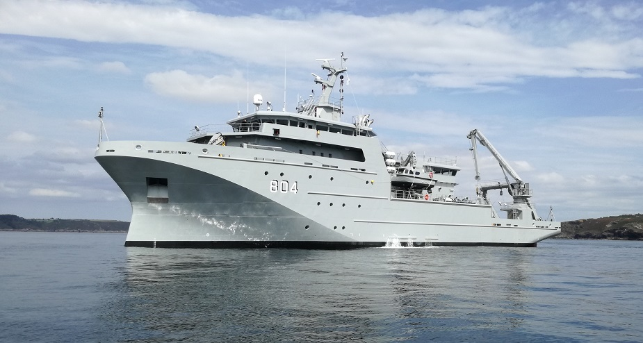 PIRIOU delivers Hydro oceanographic and Multi Missions vessel to Royal Moroccan Navy 2