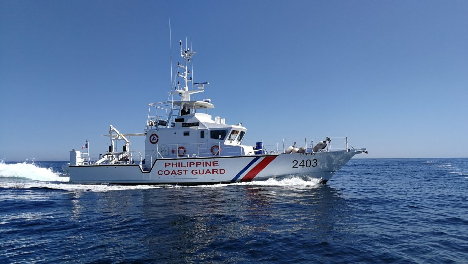 Two OCEA FPB 72 MKII Delivered to the Philippines Coast Guard