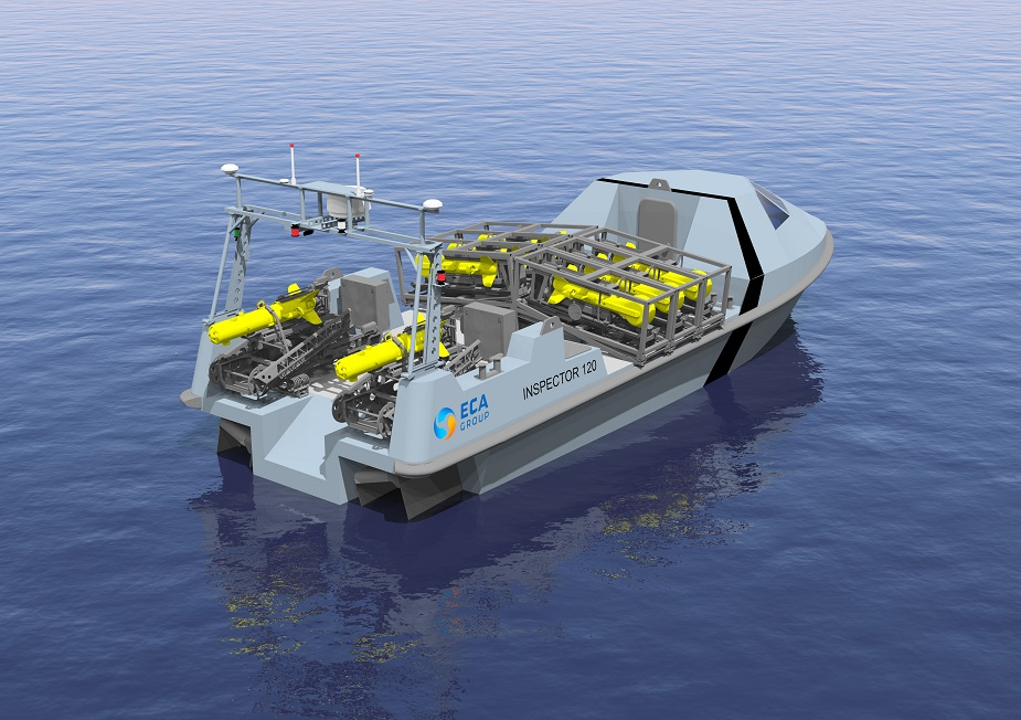 ECA Group Unveils New INSPECTOR 120 12 Meters USV for MCM 1