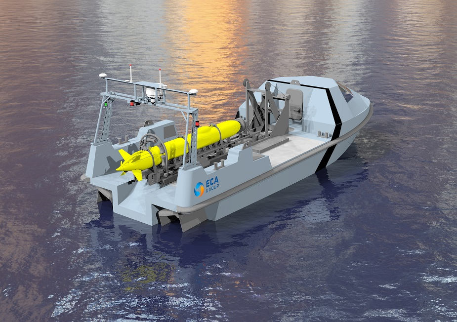 ECA Group Unveils New INSPECTOR 120 12 Meters USV for MCM 2