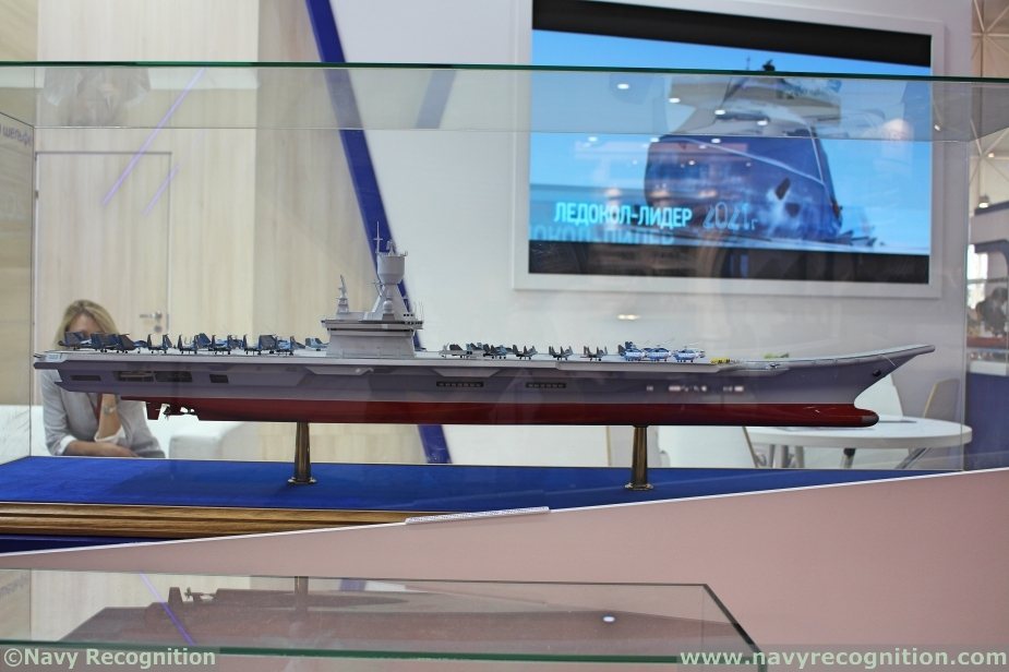 Russias Krylov Light Aircraft Carrier Project Features Semi Catamaran Hull Design 1