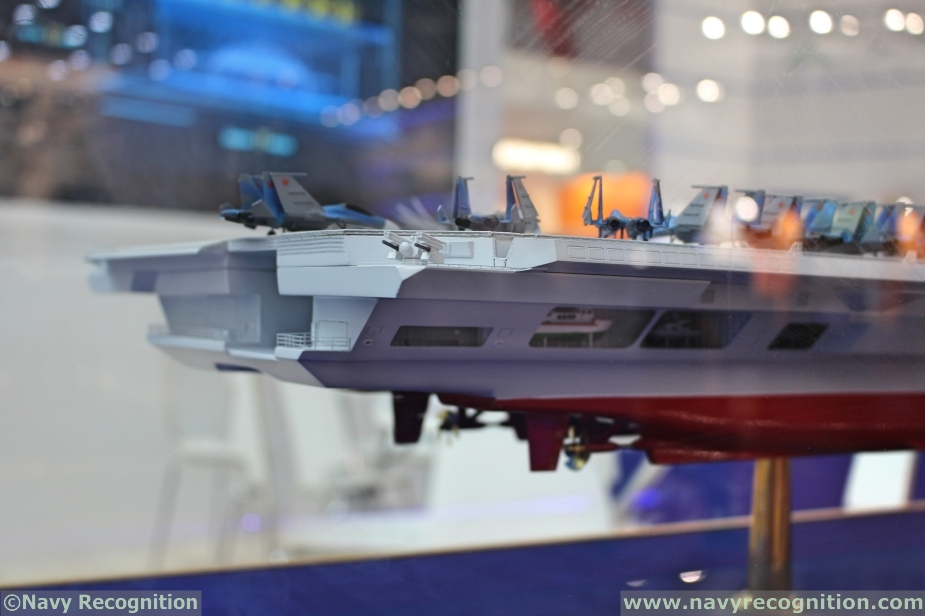 Russias Krylov Light Aircraft Carrier Project Features Semi Catamaran Hull Design 2