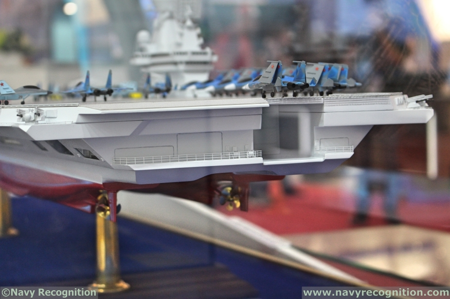 Russias Krylov Light Aircraft Carrier Project Features Semi Catamaran Hull Design 3