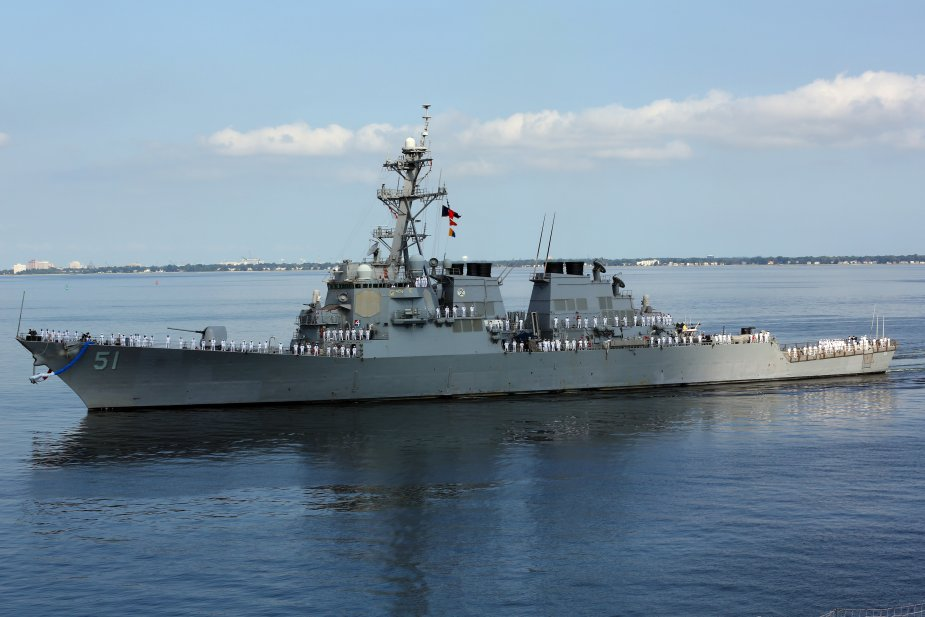 General Dynamics awarded contract for planning yard services for DDG 51 002