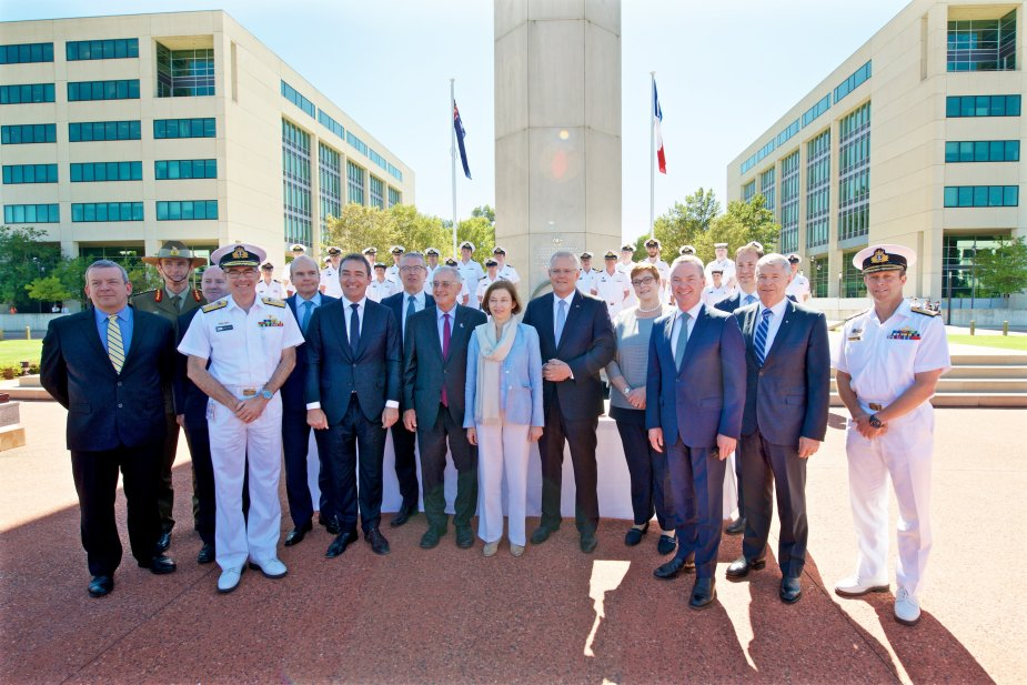 Naval Group signed future submarine SPA with Australia
