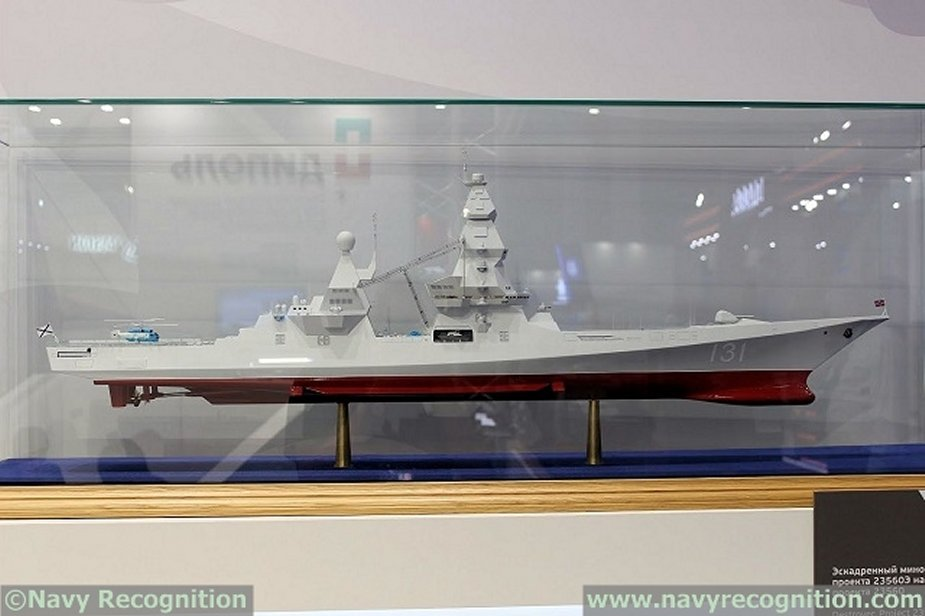 Russia to build 2 nuclear destroyers for its Navy