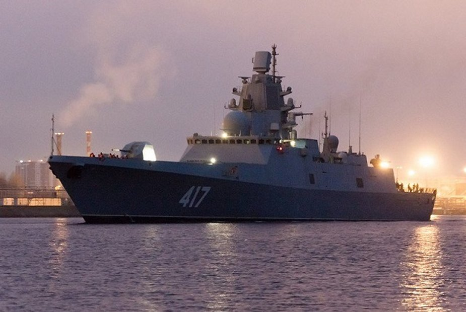 Russia laid down two Admiral Gorshkov class frigates