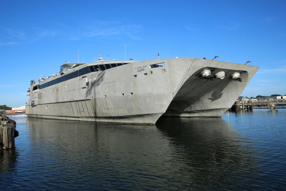 US Navy to christen Expeditionary Fast Transport Guam