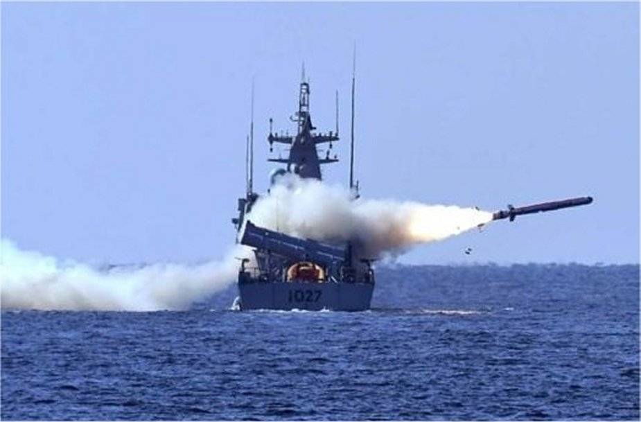 Pakistan Navy fires indigenous Harba anti ship cruise missile