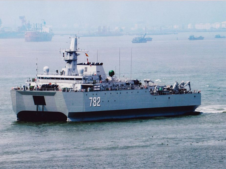 Three types of 927 surveillance ship entered China navy in 2018 and 2019 925 001