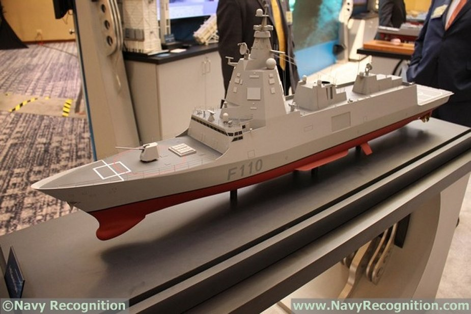 Spain to start the building of its new F 110 frigates this year