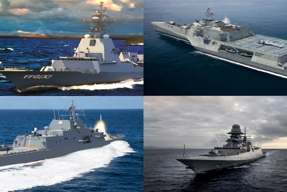 US Navy issues final RFP for the FFGX next generation frigates