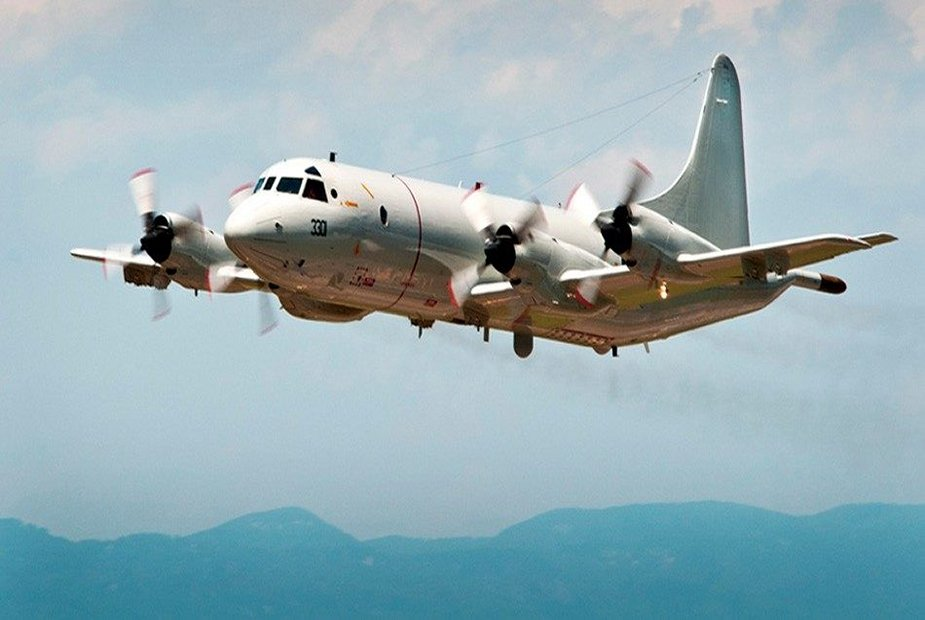 Hellenic Navy received first modernised P 3B Orion maritime patrol aircraft