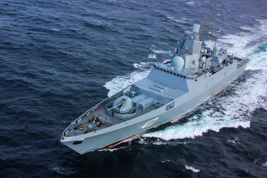 Russia plans to manufacture 12 upgraded Project 22350M frigates