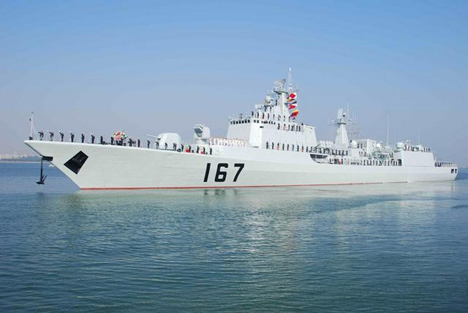 China Modernized Type 051B Destroyer Equipped With New Vertical Launch System 925 001