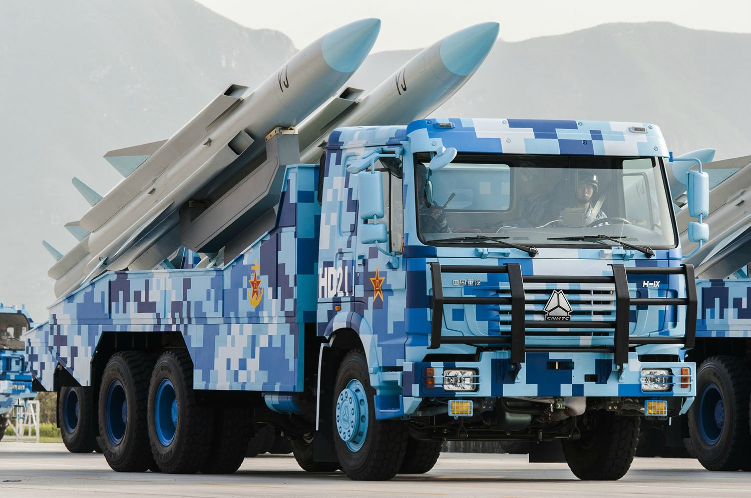 Analysis of Anti ship missiles and Ship borne air defense system unveiled at Chinese military parade 925 001