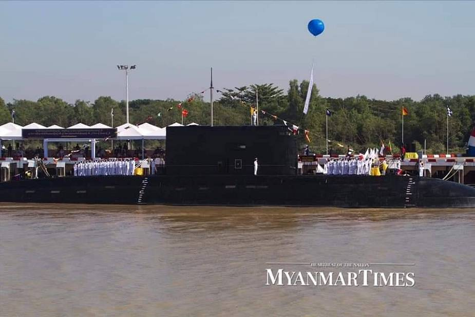 Myanmar Navy has commissioned seven new warships and one submarine 925 001