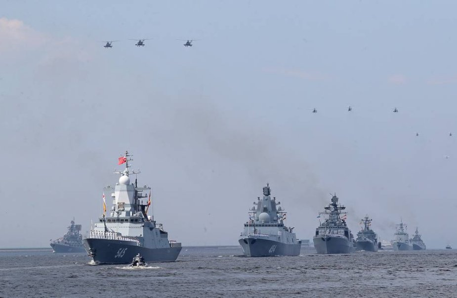 About 200 combat ships to participate in parades on Russias Navy Day 925 001